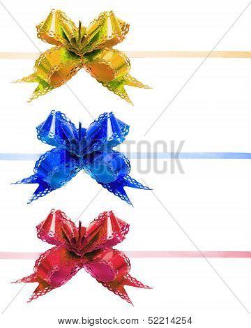 Color Bows Decorative