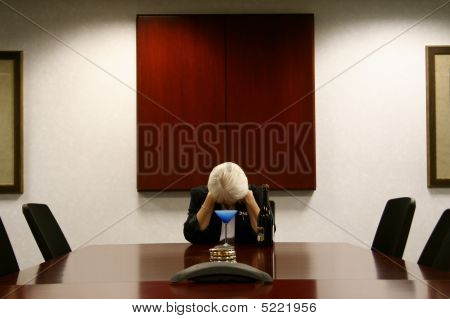 Dejected Boardroom