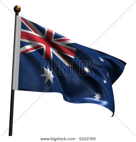 High Resolution Australian Flag