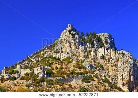 St. Hilarion Castle in Kyrenia, North Cyprus.