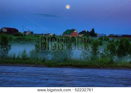 Evening Rural Landscape