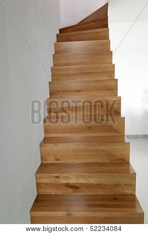 Oak Wooden Staircase