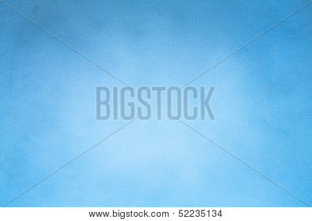 Old Blue Paper Texture Background Horizontal)