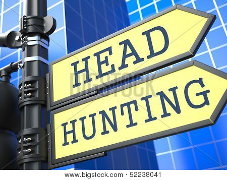 Headhunting Concept.