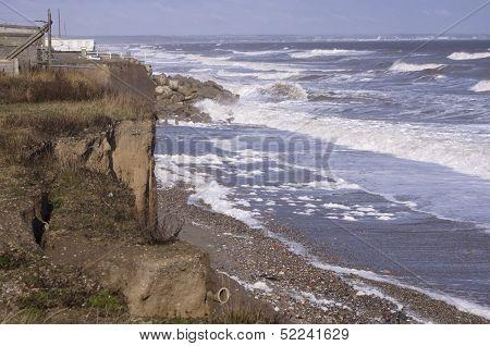 Coastal Erosion East Yorkshire England