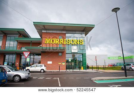 Morrisons Store in Openshow, Manchester, UK