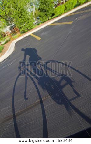 Bike Rider Shadow