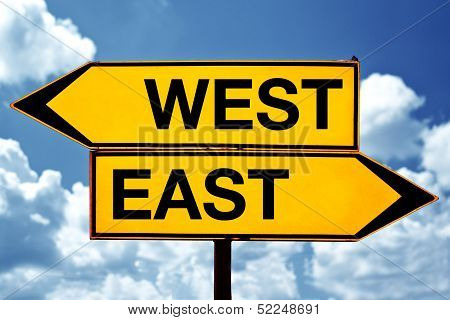 East Or West, Opposite Signs
