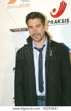 HOLLYWOOD - Gianni Capaldi arrives at the 2013 Philhellenes Gala benefiting Praksis at the SkyBar on October 9, 2013 at the Mondrian Los Angeles, West Hollywood, CA.