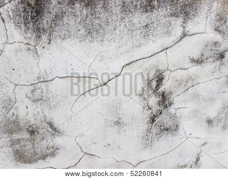 Cracks And Fissures On Wall,textured And Backgrounds