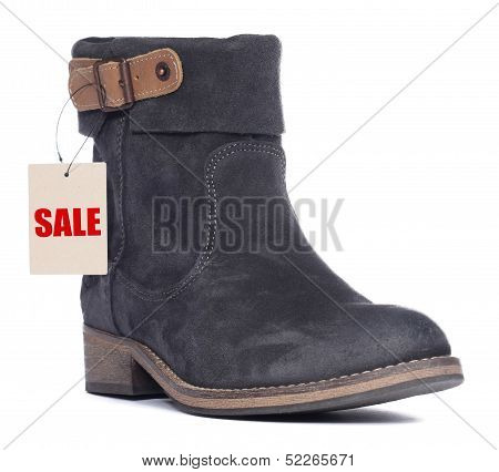 Girl Shoes With Sale Price Tag
