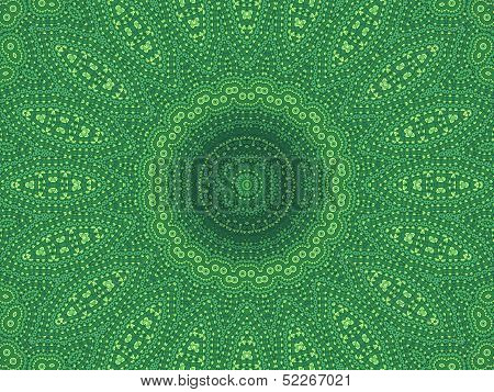 Green Abstract Pattern