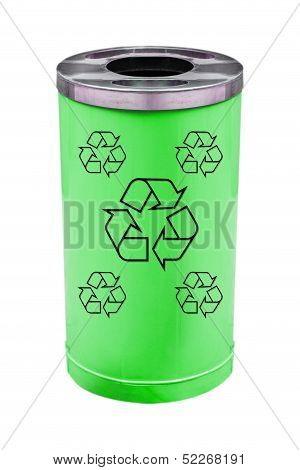 recycle green bin