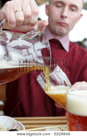 Pouring The Beer