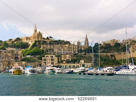 Harborr Of Gozo, Maltese Islands