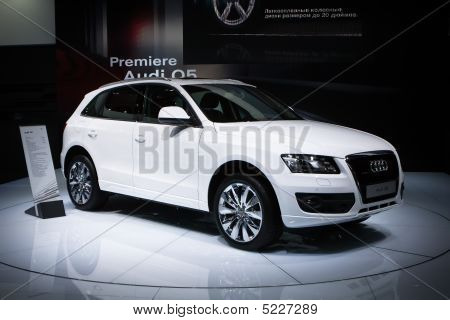 Moscow, Russia - 28 August, 2008: Audi Q5 At Moscow International Exhibition Motorshow 2008, Moscow,