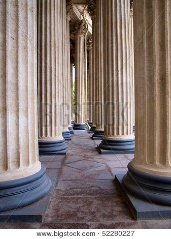 Vintage columns