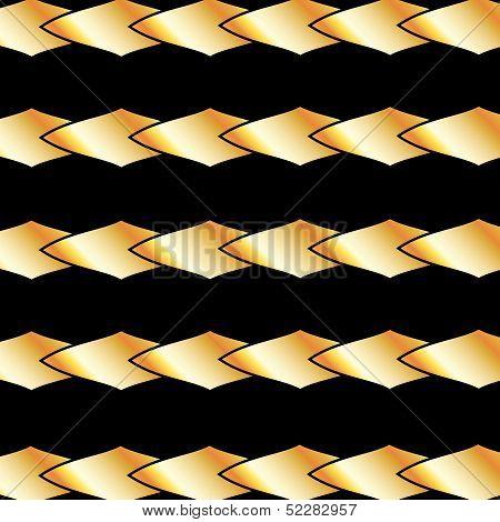 Gold bars fractal background