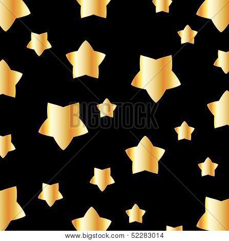 Golden flower background