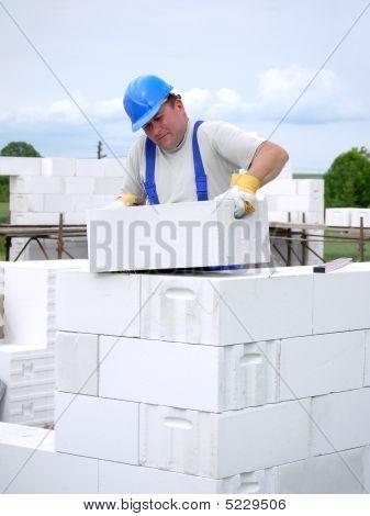 Mason At Work