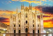 stock photo of art gothic  - Milan  - JPG