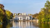 pic of tarp  - Royal Palace on the Water in the Lazienki Park  - JPG