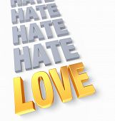 image of hate  - A bright gold  - JPG