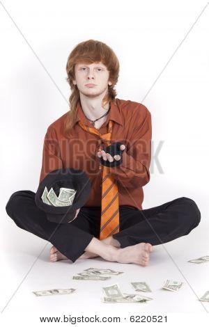 Beggar Businessman