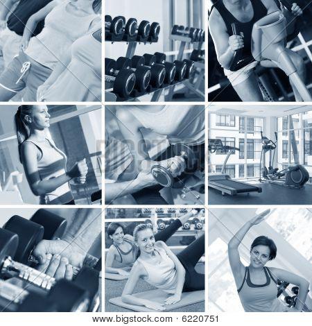 Fitness-Studio-collage