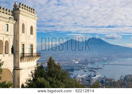 View Of Naples From The Hills
