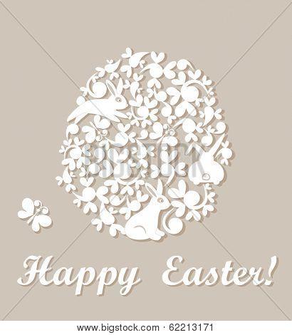 Easter applique. Raster copy