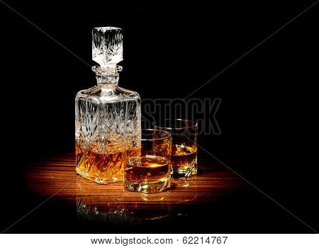 Whiskey On A Table