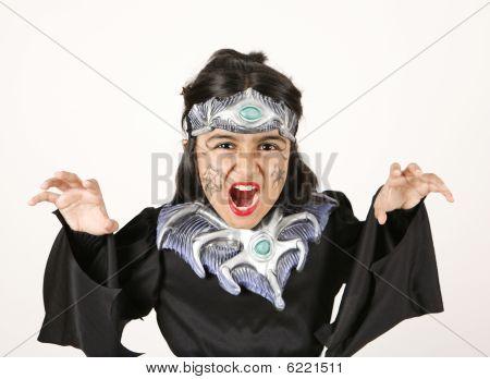 black halloween costume