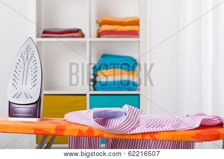 Ironing And Cleaning At Home