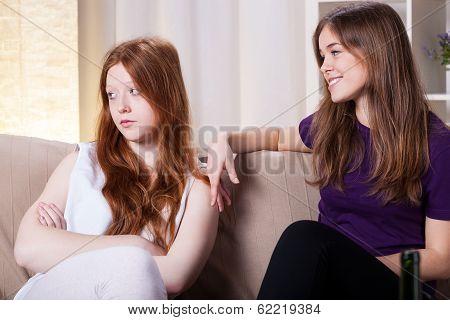 Friends Quarrel
