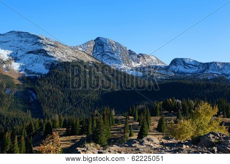 Snow covered San Juan mountains