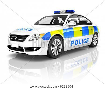 3d Generic Police Car