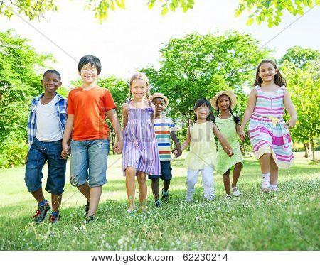 Children Having Fun in the Park