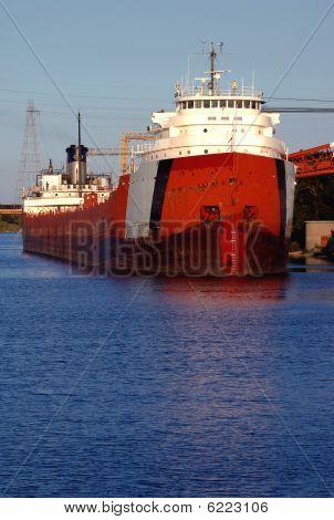 Ships in Detroit
