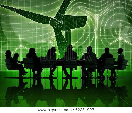 Environmental Business meeting with Alternative Energy