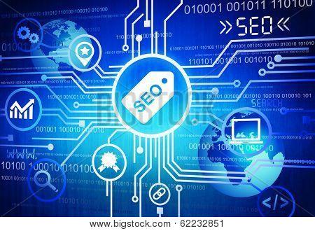 SEO Search Engine Optimisation Background