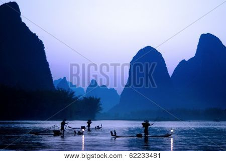Cormorant Fishing, Guilin, China