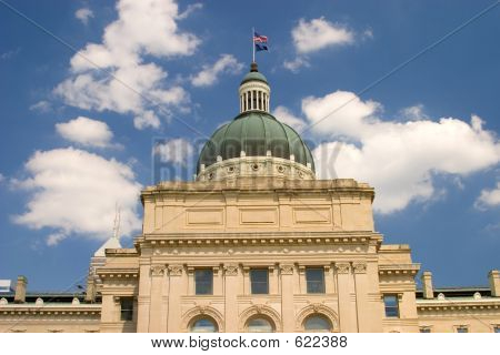 Indiana Capital Building