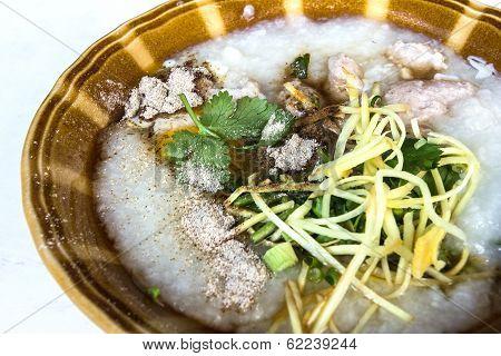 Century Egg Congee , Chinese Food