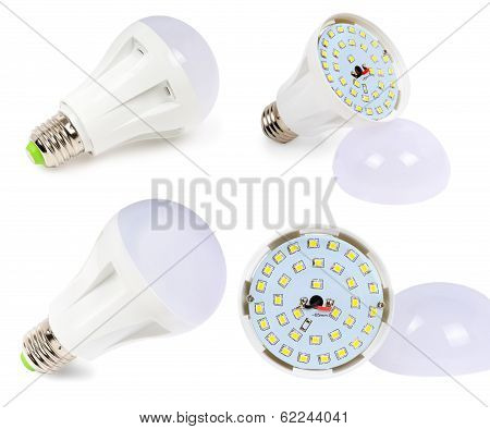 Led Lamp With Diffuser