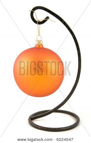 Orange Christmas Ornaments