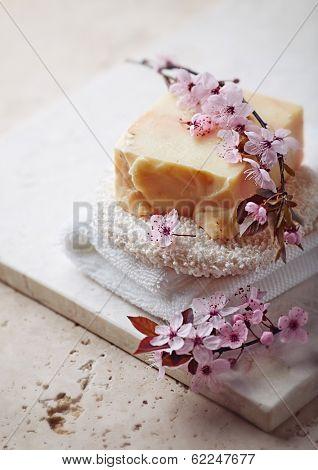 Handmade Organic Soap with Lemon Grass