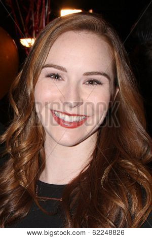 LOS ANGELES - MAR 25:  Camryn Grimes at the Young and Restless 41st Anniversary Cake at CBS Television City on March 25, 2014 in Los Angeles, CA