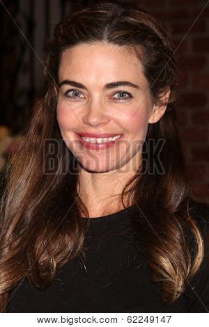 LOS ANGELES - MAR 25:  Amelia Heinle at the Young and Restless 41st Anniversary Cake at CBS Television City on March 25, 2014 in Los Angeles, CA