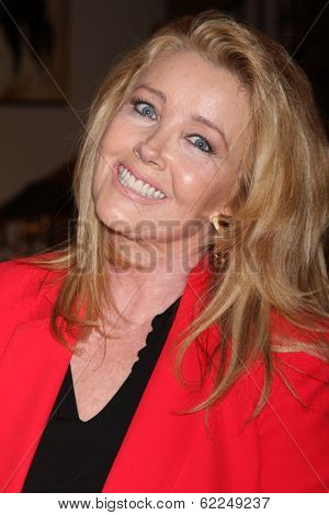 LOS ANGELES - MAR 25:  Melody Thomas Scott at the Young and Restless 41st Anniversary Cake at CBS Television City on March 25, 2014 in Los Angeles, CA